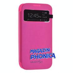 Husa toc flip S View Samsung Galaxy S4 i9500 i9505 + folie ecran + expediere gratuita Posta - sell by PHONICA