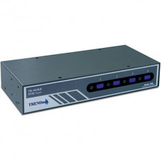 TRENDnet TK-403KR 4-Port PS/2 Rack Mount KVM Switch Kit w/ Audio - GARANTIE