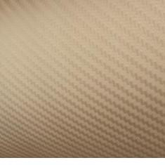 Rola folie carbon 3D aurie latime 1.27mx30m - Folii Auto tuning