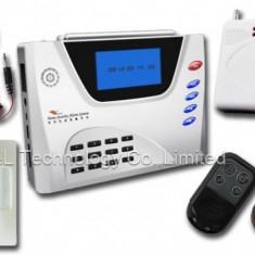 Noul Sistem de Alarma pentru Casa sau Firma model 2014 - GSM+PSTN-20 cu 99 Zone Wireless