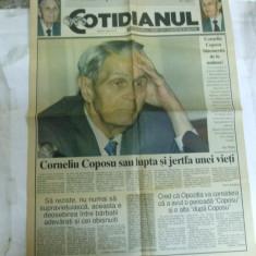 Cotidianul 11 noiembrie 1995 La moartea lui Corneliu Coposu - Ziar