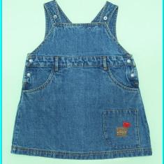 DE FIRMA → Sarafan blugi, practic, calitate ESPRIT → fetite | 18—24 luni | 92 cm