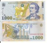 LL bancnota Romania 1000 lei1998 UNC