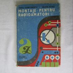 Montaje pentru radioamatori - Trifu; Rosu - ed. Albatros 1990, carti electronica