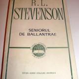 SENIORUL DE BALLANTRAE - R.L. Stevenson - Roman, Anul publicarii: 1967