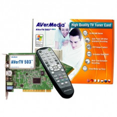TV TUNER AVERMEDIA STUDIO-503 - TV-Tuner PC Avermedia, DVB-C