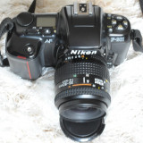 Nikon F601 + 35-80 f:4-5, 6D MACRO - Aparat Foto cu Film Nikon, SLR, Mediu