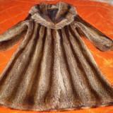 HAINA DE DAMA, din blana naturala de RATON, marime 42, Culoare: Din imagine
