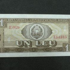 ROMANIA - BANCNOTA - 1 LEU 1966 - Bancnota romaneasca