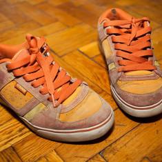 Skate Shoes Osiris, casual, stare foarte buna - Adidasi barbati osiris, Marime: 41, Culoare: Orange, Piele intoarsa