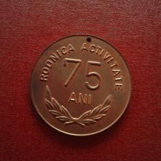 MEDALIE DE BRONZ - RODNICA ACTIVITATE 75 ANI - Jubiliare