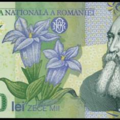 10000 LEI 2000 GHIZARI PERFECT UNC - Bancnota romaneasca