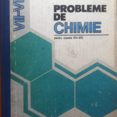 PROBLEME DE CHIMIE PENTRU CLASELE VII-VIII - Cornelia Gheorghiu, Carolina Parvu - Carte Chimie