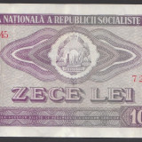 10 lei 1966 VF - Bancnota romaneasca