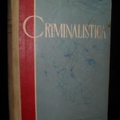 CRIMINALISTICA - S. Golunski 1961 - Carte Criminologie