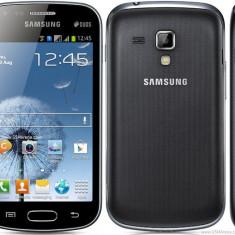 Samsung Galaxy Trend Lite - Telefon mobil Samsung Galaxy Trend Lite, Negru, Neblocat, Dual SIM