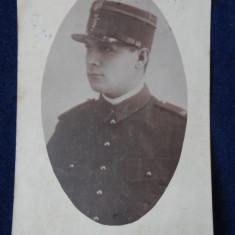 Vedere - Poza - Militar 1930 - Capitan - Fotografie veche