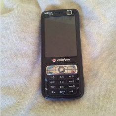 Nokia N73 Codat Vodafone - Telefon Nokia, Negru, <1GB, Fara procesor, Nu se aplica