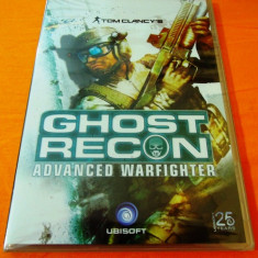 Joc Tom Clancy's Ghost Recon Advanced Warfighter, PC, sigilat, 9.99 lei - Joc PC Ubisoft, Shooting, 18+, Single player