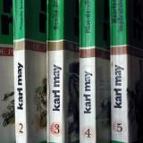 Karl May - Opere (Vol.1+2+3+4+5) - Ciclul De pe tron la esafod - Carte politiste