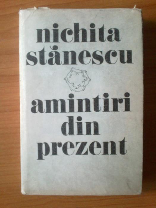 u1 Nichita Stanescu - Amintiri din prezent foto mare
