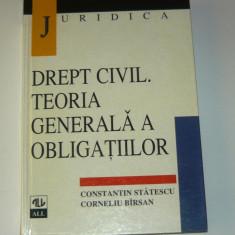 All Beck - Juridica - Drept Civil. Teoria generala a obligatiilor - curs universitar - XXL - 440 pag - 2+1 gratis pt produse la pret fix - RBK4599 - Carte Drept administrativ