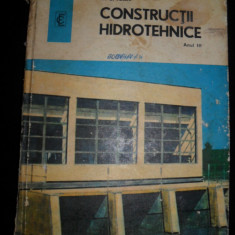 N.G. Ioan, Constructii hidrotehnice, manual pentru anul III, Alta editura