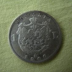 1 leu 1900 - 1 - Moneda Romania