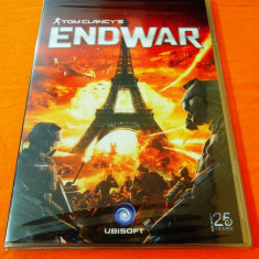 Joc Tom Clancy's Endwar, PC, original si sigilat, 9.99 lei(gamestore) - Jocuri PC Ubisoft, Actiune, 16+, Single player