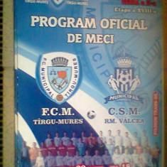 FCM Tg.Mures-CSM Rm.Valcea (22 martie 2012) - Program meci