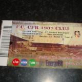 Bilet meci fotbal - CFR Cluj - Steaua - 08. 03. 2014
