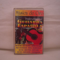 Vand caseta audio Musica de Oro - Instrumental Guitarra Espanola vol.2, originala. - Muzica Drum and Bass, Casete audio