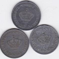 2) LOT serie COMPLETA 20 lei 1942 1943 1944 - Moneda Romania