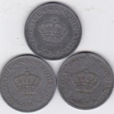 1)LOT serie COMPLETA 20 lei 1942 1943 1944 - Moneda Romania