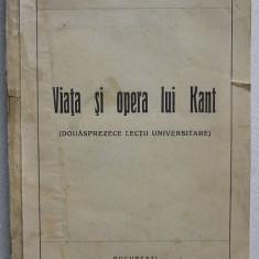 Ion Petrovici - Viata si Opera lui Kant (1936), Alta editura