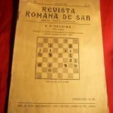 Revista Romana de SAH 1937 nr.8, Director M.Sadoveanu