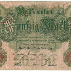GERMANIA 50 MARK MARCI 1910 [3]