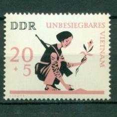 Germania DDR 1966. Ajutor pentru Vietnam -nestampilat - dantelat - Timbre straine