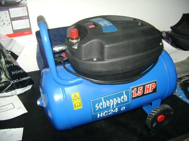 Compresor fara ulei Scheppach HC24 o  APROAPE NOU foto mare