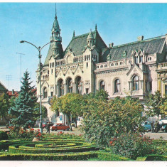 #carte postala(ilustrata) -ORADEA-Biblioteca centrala - Carte Postala Crisana dupa 1918, Circulata, Printata
