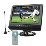 COMBO BOX,TELEVIZOR +mp4 +MP3 , 9.8 INCH CU antena ,BOXE,CITITOR STICK USB,CARD,ADAPTOR AUTO SI 220V.telecomanda full control.