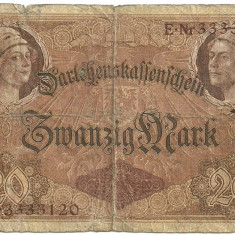 GERMANIA 20 MARK MARCI 1914 [1]