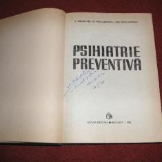 Psihiatrie preventiva - V. Angheluta, s.a., Alta editura