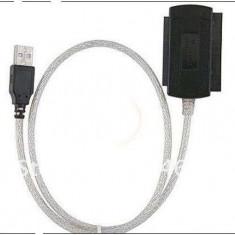 Adaptor USB 2.0 la IDE SATA 5.25 S-ATA/2.5/3.5 - Adaptor interfata PC