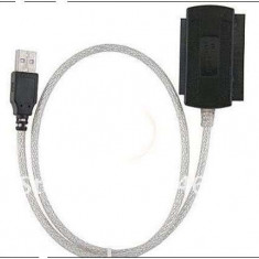 Adaptor USB 2.0 la IDE SATA 5.25 S-ATA/2.5/3.5 - Adaptor interfata PC