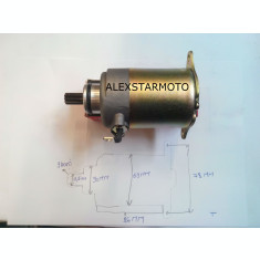 ELECTROMOTOR GY6-125- PEUGEOUT / QINGQI -4T /4TIMPI (125-150CC)