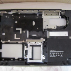 CARCASA INFERIOARA LAPTOP ASUS K51, K66IC, X5 (varianta pentru placa video dedicata si ventilator separat) - Carcasa laptop