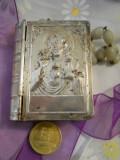 CUTIE speciala pentru ROZAR splendida si VECHE executata manual de Colectie RARA