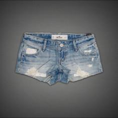 HOLLISTER PANTALONI SCURTI - Pantaloni dama, Marime: 34, Culoare: Albastru, Albastru