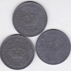 5) LOT serie COMPLETA 20 lei 1942 1943 1944 - Moneda Romania